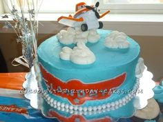 """We went with a Disney Planes theme for my son's 2nd birthday. It was a blast. This 10"""" round cake was the yummiest vanilla cake I had ever made!..."""