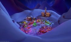 Christmas Town from A Nightmare Before Christmas