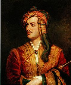 Portrait of Lord Byron-  you saucy minx