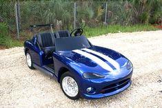 My kind of golf cart!