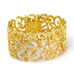 » de Boulle Collection Scroll Bangle Bracelet » de Boulle Diamond & Jewelry