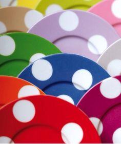 Polka-Dot Plates