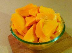 Mango Monomeal Fruit Salads, Cantaloupe, Mango, Deserts, Banana, Snacks, Island, Food, Manga