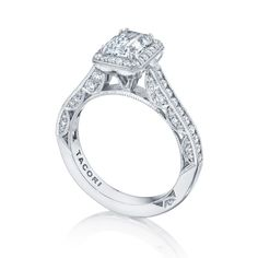 Style# HT2550EC7X5 - Classic Crescent - Engagement Rings - Tacori.com