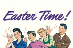 It's Easter time! #vintage #1940s #Easter