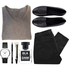"""BLK DNM"" by louisesuxx on Polyvore"