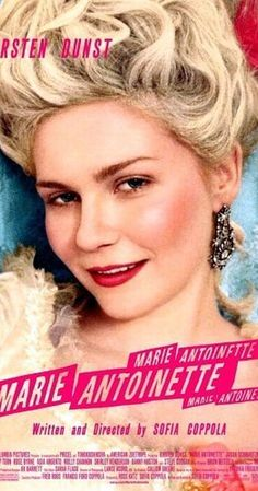 Directed by Sofia Coppola.  With Kirsten Dunst, Jason Schwartzman, Rip Torn, Judy Davis. The retelling of France's iconic but ill-fated queen, Marie Antoinette. From her betrothal and marriage to Louis XVI at 15 to her reign as queen at 19 and to the end of her reign as queen and ultimately the fall of Versailles.