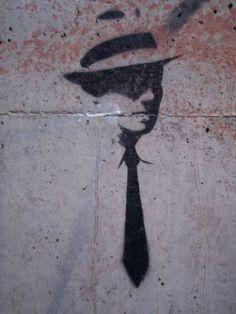 Street Art from around the Globe: Melbourne - black & white stencils (34)