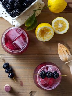 Blackberry on Rye Whiskey | HonestlyYUM