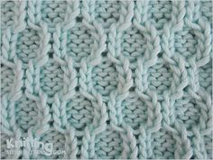 Honeycomb Trellis is very complicated but once finished, it is absolutely gorgeous and is great on large panels like blankets, pillows, and even in scarves and hats.