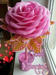 Good Morning Photos, Night Photos, Diy Flowers, Beautiful Flowers, Elsa, Plants, Paper Engineering, Faeries, 15 Years
