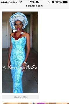 Bella Naija has done it again.  Volume 38 of the Aso Ebi is rocking! For more creative ideas on Nigerian  Attire visit bellanaija.com  #asoebi #native #lace #george #wax #velvet