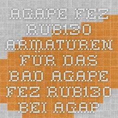 AGAPE FEZ RUB130 - Armaturen für das Bad AGAPE FEZ RUB130 bei agape 32 München  white faucet in wall