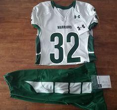 15888c3a0 Under Armour UH Warriors University of Hawaii Football  32 Uniform Large   UnderArmour  HawaiiWarriors