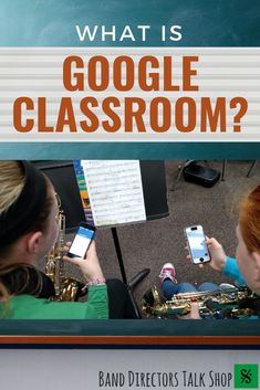 If your school utilizes GAFE (Google Apps for Education), then check out this article! In it, you'll find suggestions on how to use Google Classroom to your advantage as a band director. You can automatically set up folders for each class, create assignments, post announcements and important forms...and the list goes on! Click here to see a more detailed run-down of how to use Google Classroom in your band program. #banddirectorstalkshop Music Lesson Plans, Music Lessons, Music Classroom, Music Teachers, Classroom Ideas, Piano Teaching, Teaching Kids, Elementary Music, Upper Elementary