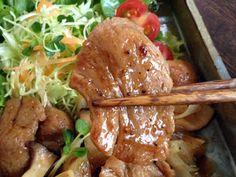 大豆ミート【お肉みたいな生姜焼き】の画像