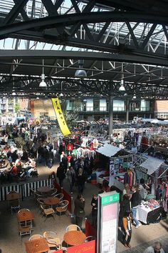 Market? - Spitalfields on a Thursday is brilliant – like Portobello without the crowds.