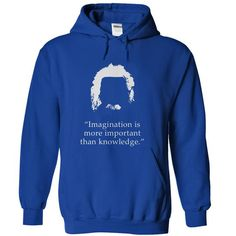 Imagination is more important than knowledge Albert Einstein T Shirts, Hoodie. Shopping Online Now ==► https://www.sunfrog.com/LifeStyle/Imagination-is-more-important-than-knowledge_Albert-Einstein-19371686-Guys.html?41382