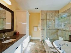 master bath (needs a double sink)