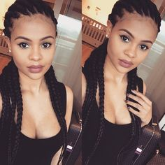 80 Best Straight Back Braids Images Natural Hair Styles