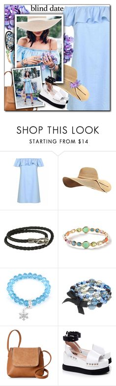 """""""Dress to Impress: Blind Date"""" by shoaleh-nia ❤ liked on Polyvore featuring Tod's, Ippolita, West Coast Jewelry, Simply Vera, Street Level and Karl Lagerfeld"""