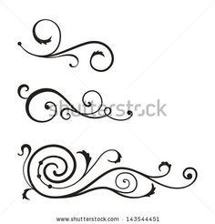 7 best swirl template images on pinterest swirl design swirls and
