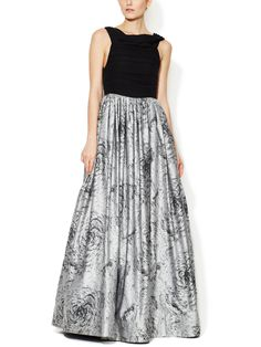 Alice + Olivia || Meredith Floral Silk Gown Apparently I have my own dress!!!