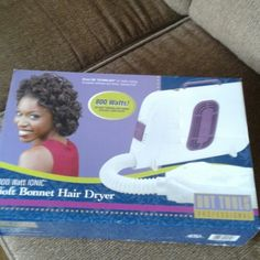 Hair Dryer 800 Watts soft bonnet hair dryer in excellent condition. Used a few times. Hot Tools Other
