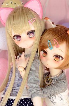 Cute- friends Ooak Dolls, Blythe Dolls, Monster High, Disney Animator Doll, Kawaii Doll, Anime Figurines, Dream Doll, Lovely Creatures, Anime Dolls