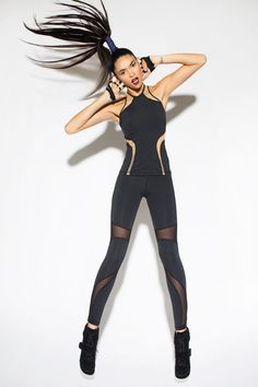 Michi NY #fashercise http://www.uksportsoutdoors.com/product/the-zone-z681daz-smooth-velourlycra-capri-leggings-black-size-28/