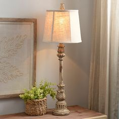 Classic Cream Buffet Lamp | Kirklands