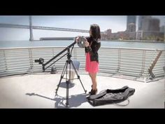 Portable 4' Video Crane Samples