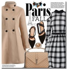 How To Wear I Love Paris in the Fall (street chic) Outfit Idea 2017 - Fashion Trends Ready To Wear For Plus Size, Curvy Women Over 20, 30, 40, 50