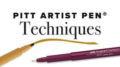 One of the many reasons we at Faber-Castell are proud of our Pitt Artist Pen ® collection is the versatility it provides, all while delivering a high-quality result. With every line drawn in reliable and richly pigmented India ink, the result is unmatchable. Add texture, density, and more personality into your work by practicing different techniques. Whether it be hatching, compressing, or highlighting, incorporating these drawing techniques will add the perfect finishing touch to your image. Pitt Artist Pens, Pen Collection, India Ink, Faber Castell, Drawing Techniques, Line Drawing, Your Image, Learning, Personality