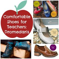 Comfortable Shoes for Teachers.