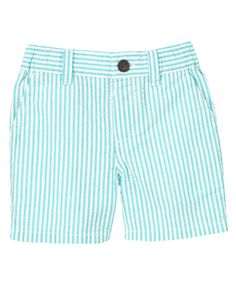 Spring is here, so suit him up in our fresh seersucker short. The favorite sunny day fabric, our seersucker is soft and comfy for style that's easy to wear.