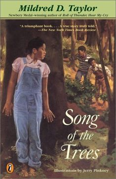 Song of the Trees by Mildred D. Taylor,http://www.amazon.com/dp/0142500755/ref=cm_sw_r_pi_dp_zAvdtb1TGYHMTPYZ
