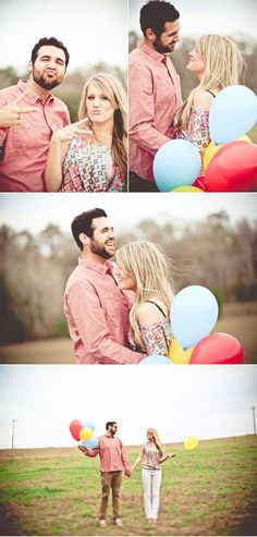 Laid-Back, Balloons Engagement