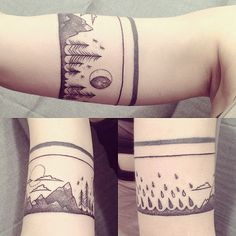 tree mountain forest tattoo - Google Search