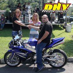 2013 dhy motorsports summer bash bike show 2nd place for Deptford honda yamaha