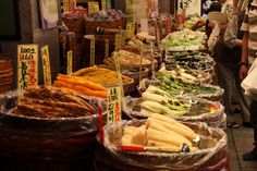 錦市場のお漬物屋さん 祇園祭 京都 kyoto gion festival Kyoto, Cobb Salad, Food, Essen, Meals, Yemek, Eten