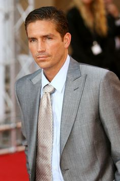 Jim Caviezel: Person of interest with gorgeous eyes.