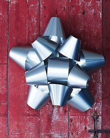 Metallic Bow | Martha Stewart