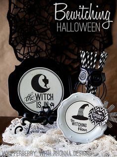 Bewitching Halloween decor by Whipperberry
