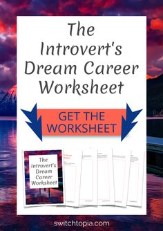 Scrolling through introvert careers lists? Can't seem to find a career that suits your introverted nature? I've got just the thing. Download The Introvert's Dream Career Worksheet to discover your ideal work. Answer a series of questions to help you embrace your introversion and discover what you need in your ideal career. Finally thrive instead of just survive.
