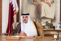 #موسوعة_اليمن_الإخبارية l في اول خطاب له منذ بدء ازمة الخليج.. أمير قطر يضع شرطين لحل الخلاف