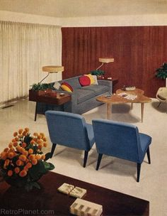1000 images about livingroom on pinterest retro living - 1950 s living room decorating ideas ...