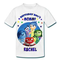 Inside Out Mommy And Daddy Of The Birthday Boy Shirts By FantasyKidsDesigns On Etsy