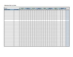 Class Attendance Template  Teaching Ideas