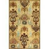 Found it at Wayfair - Tapestry Gold Ferozi Rug